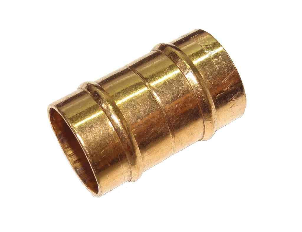 Mm solder ring coupler capillary plumbing fitting for