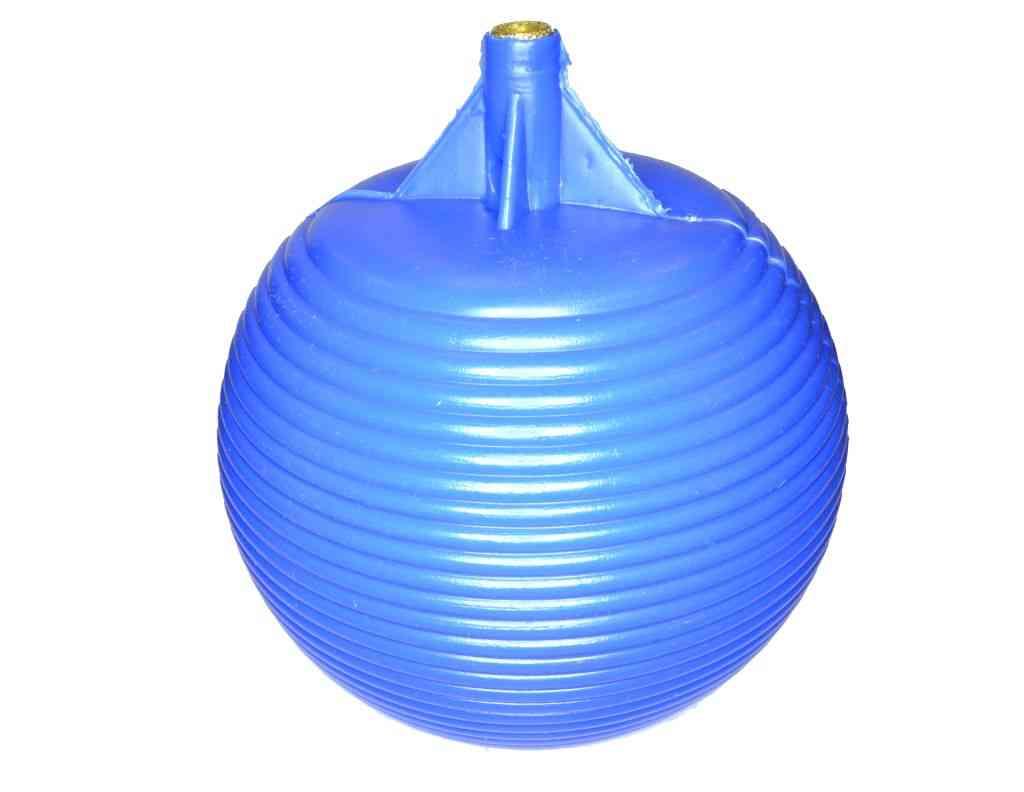 4-1/2 Inch Plastic Float Valve Ball | Blue