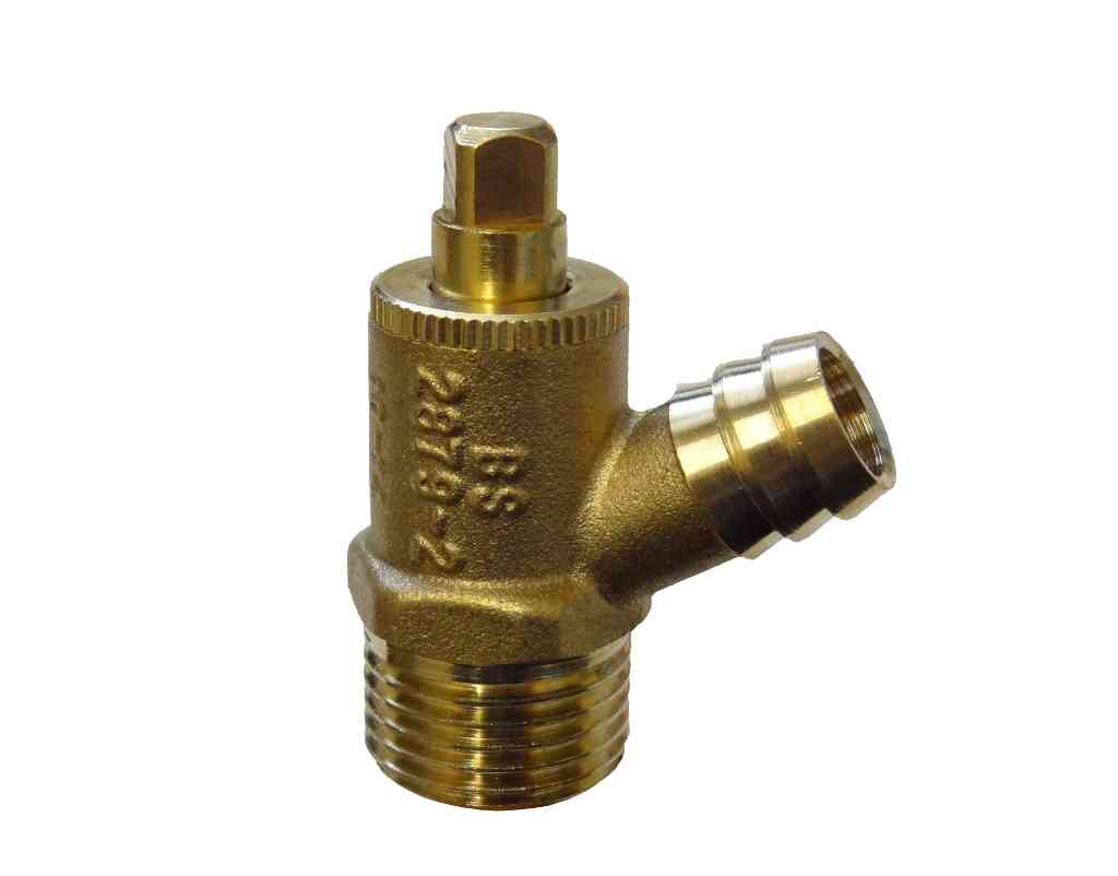 Type A 1/2 Inch BSP Drain Off Valve / Cock