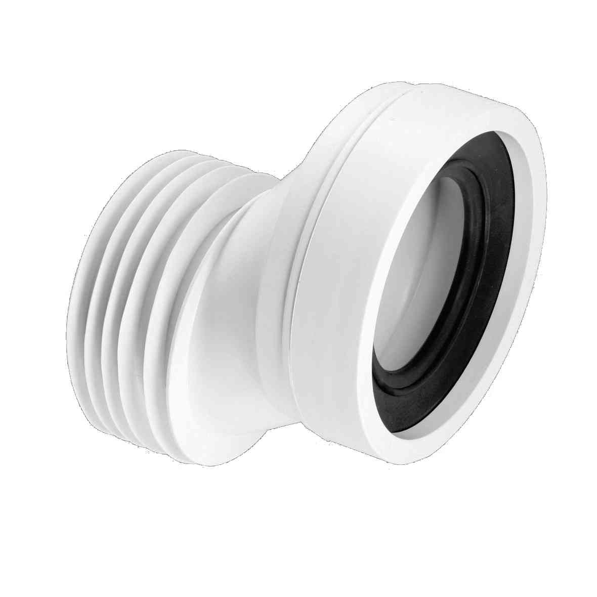 Toilet pan connector mm offset ebay
