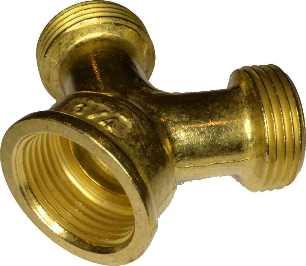 washing machine splitter brass