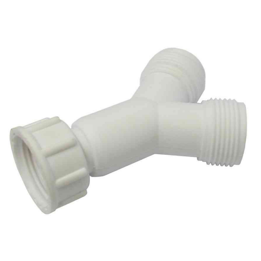 y connector for washing machine