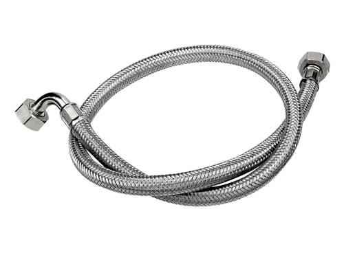 stainless steel braided washing machine inlet fill hose stevenson plumbin. Black Bedroom Furniture Sets. Home Design Ideas