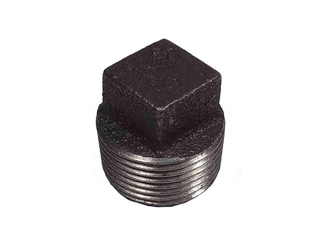 3/4 Inch BSP Black Iron Plug