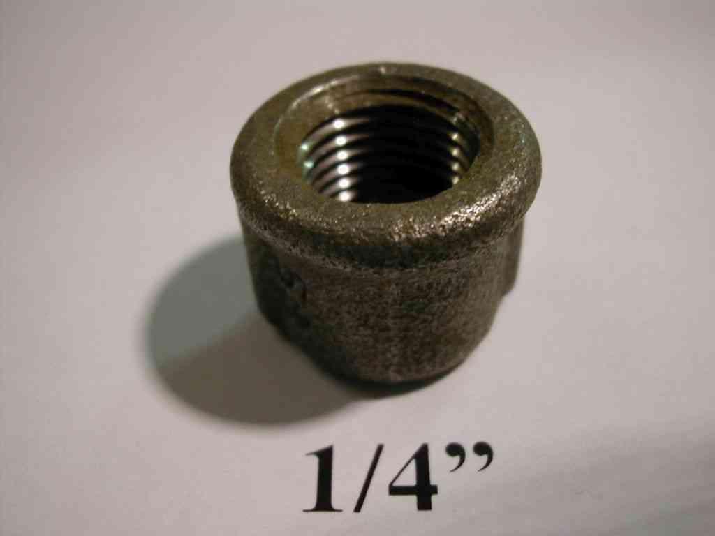 1 4 Quot Bsp Black Malleable Iron Blanking Cap Stevenson