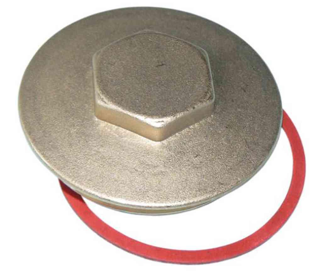 Immersion Heater Hot Water Cylinder Brass Blanking Plug