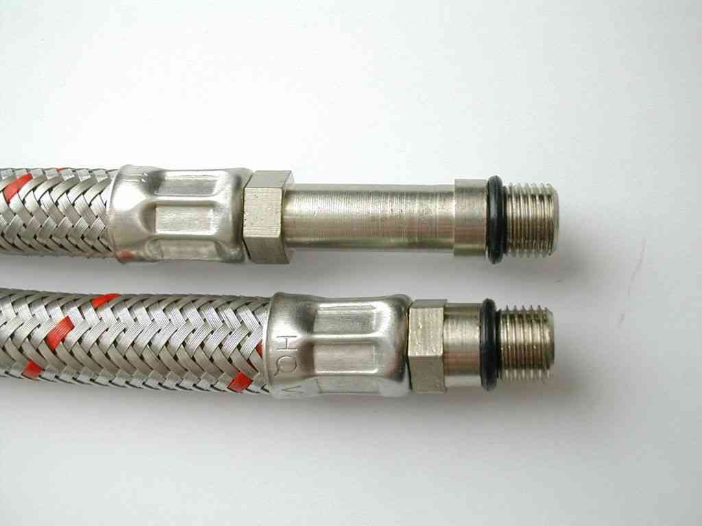 Flexible Monobloc Tap Connector Tails 15mm X M10 10mm