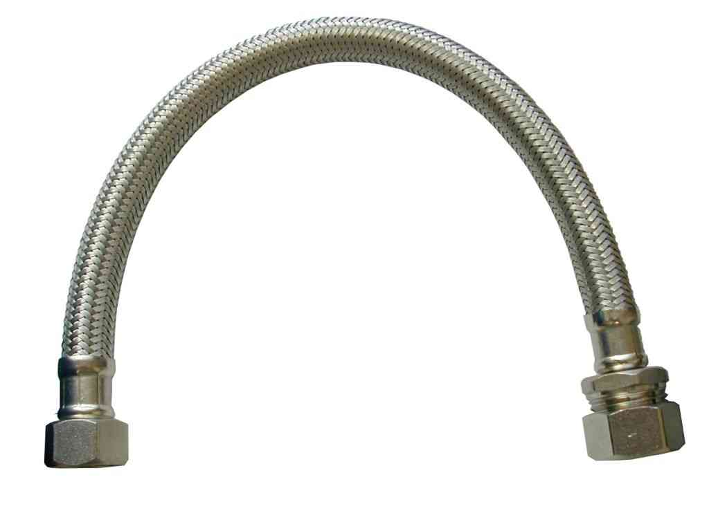 Mm inch bsp female flexible tap connector hose