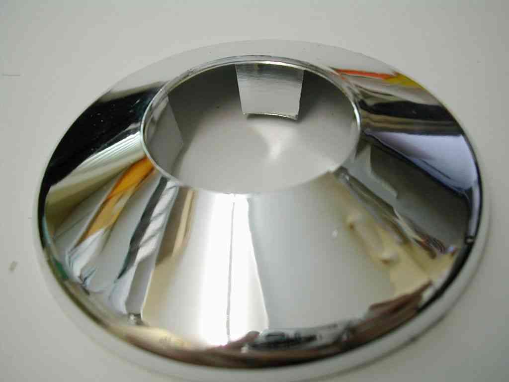 Chrome 28mm Pipe Cover Collar Stevenson Plumbing