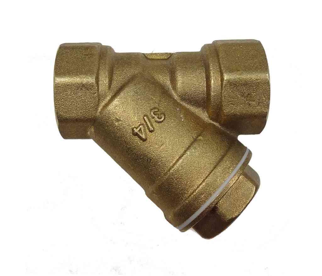 3 4 Inch Bsp Brass In Line Y Strainer Filter Stevenson