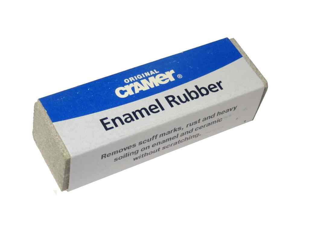 Cramer Bath Rubber Removes Scuffs Marks Rust On Enamel