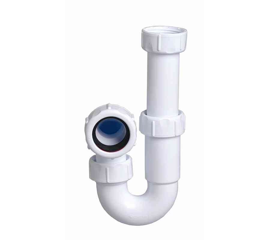 1 1 4 inch telescopic bathroom basin p trap stevenson for Bathroom p trap height