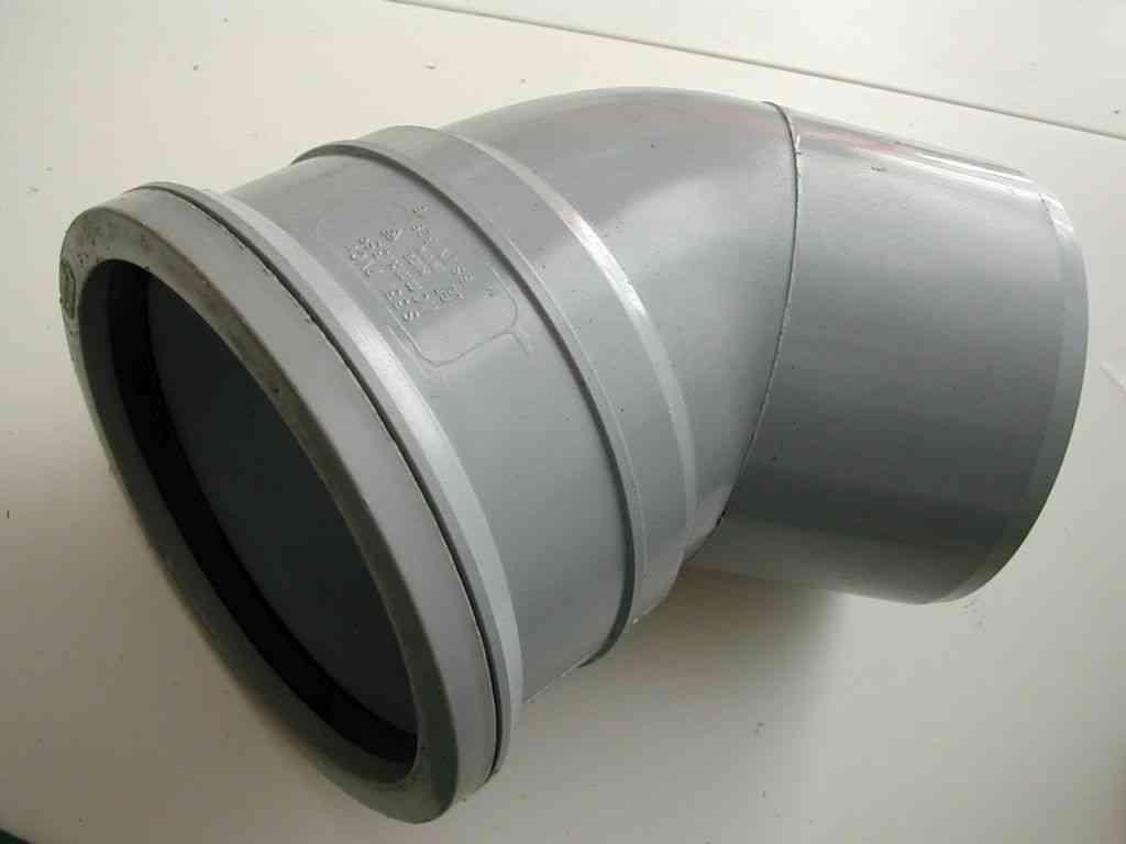 110mm Push-fit 45 Degree MxF Male x Female Elbow
