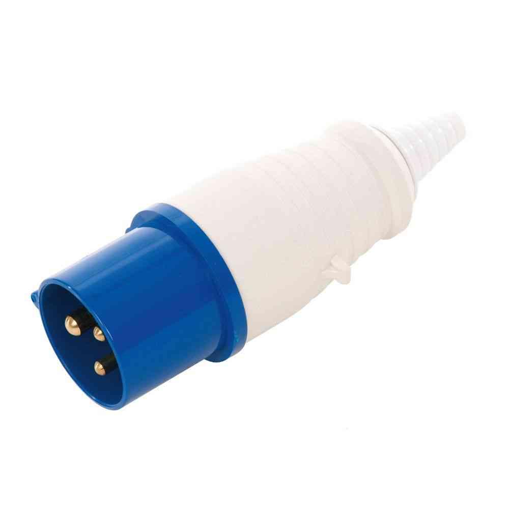 16A Blue Plug | IP44 220-240V