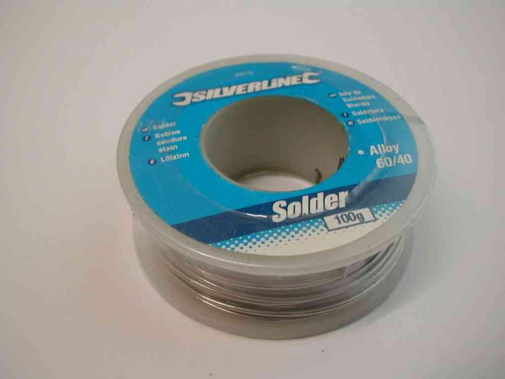 Electrical Solder Wire | 100g Reel / Roll | Stevenson Plumbing ...
