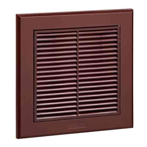 4 Inch (100mm) Dark Brown Fixed Grille