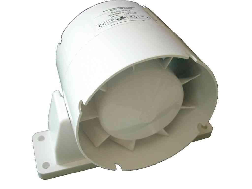 In line Extractor Fan 100mm (4 Inch) Stevenson Plumbing  #585140